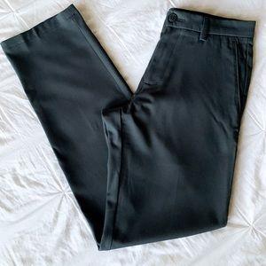 Haggar H26 Men's Black Trousers